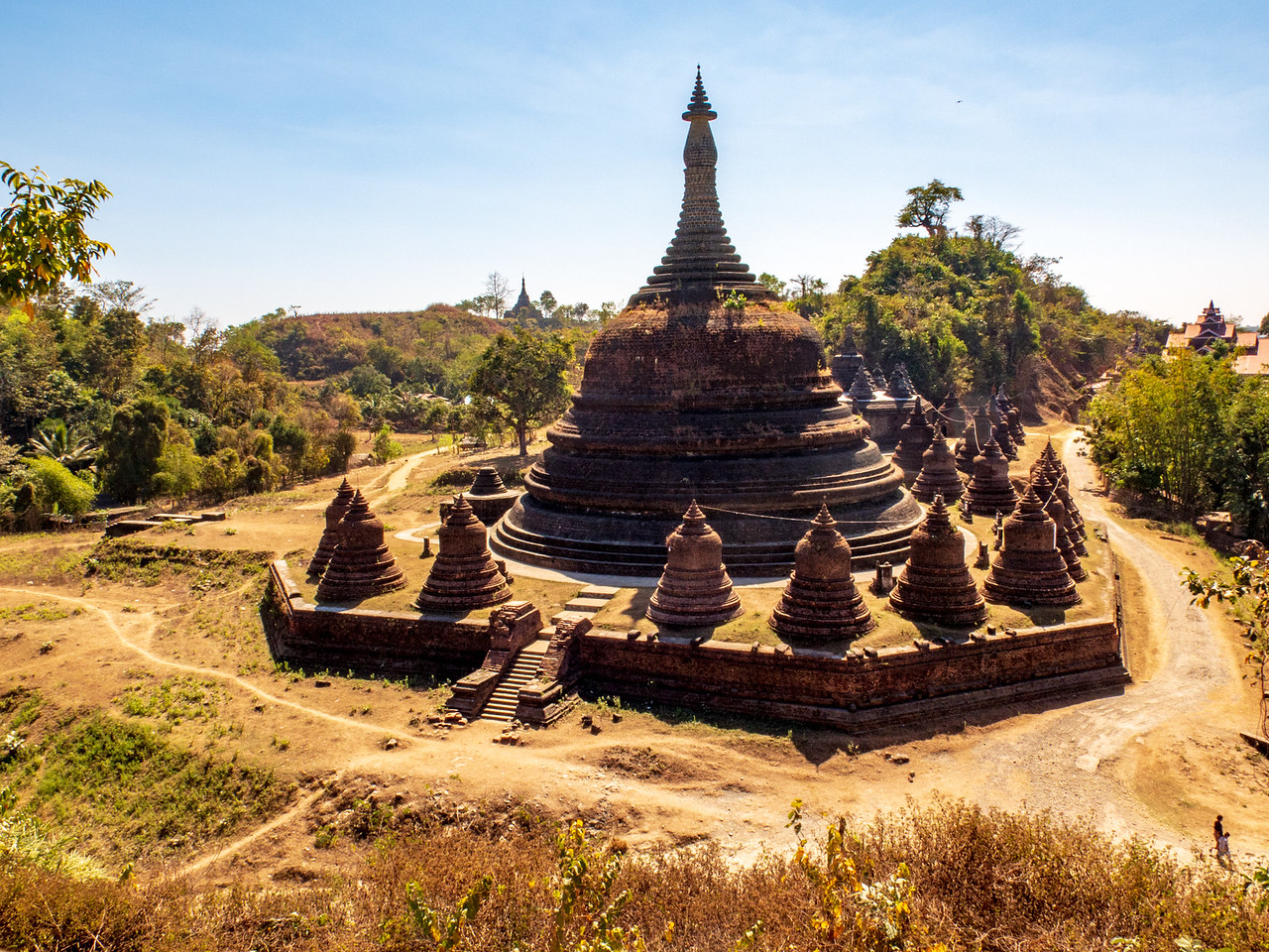 Mrauk U Pagoda