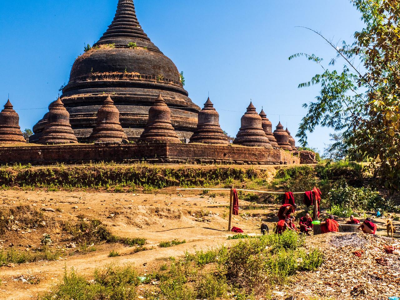 Andaw Temple in Mrauk U, Myanmar