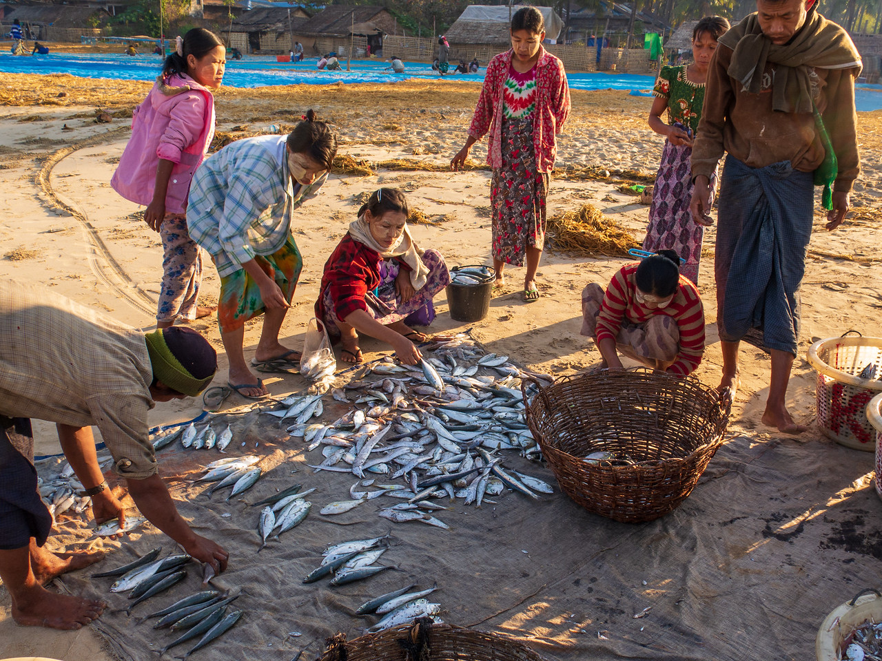 Images of a Myanmar Fishing Village