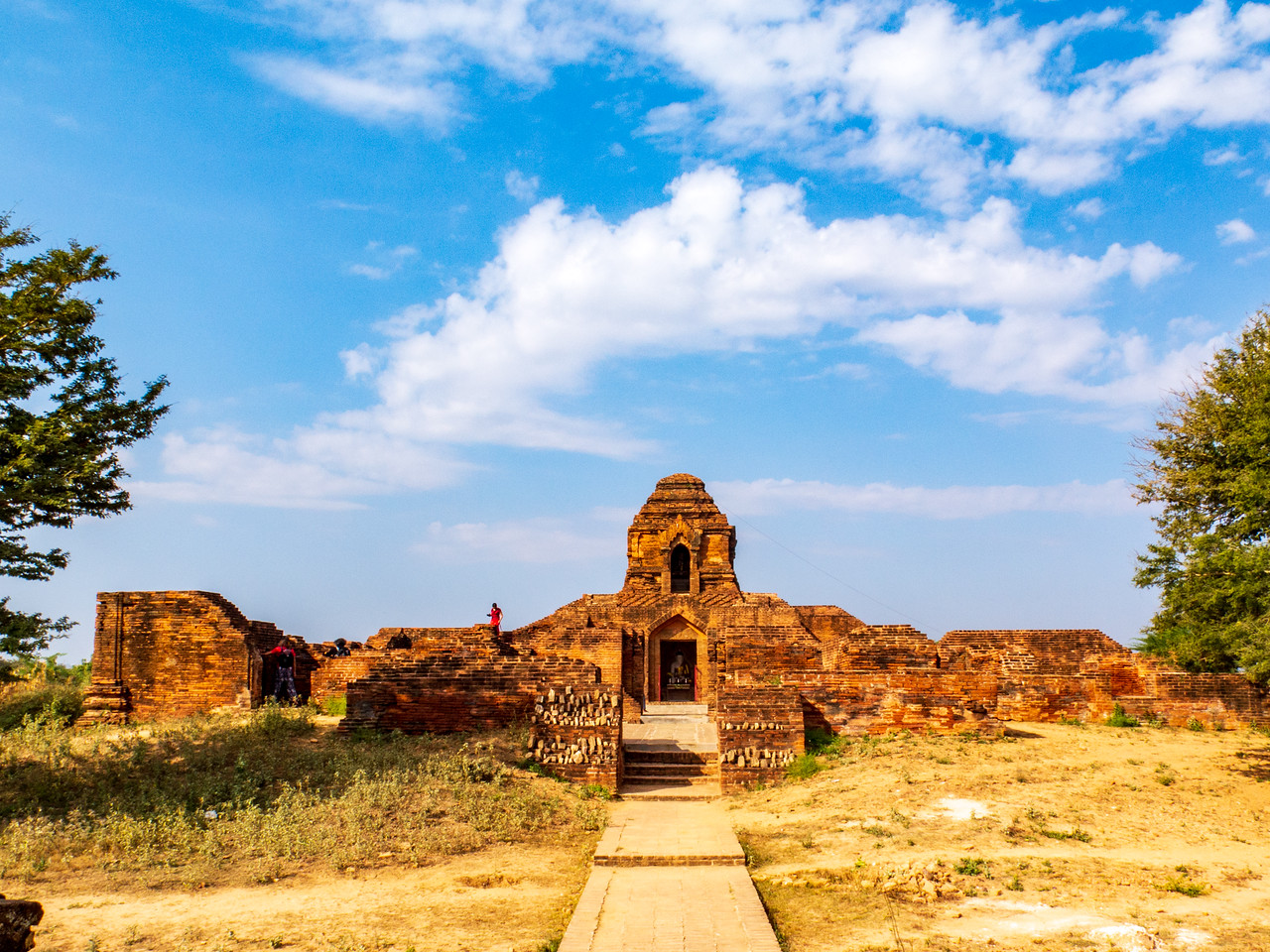 A Small but Beautiful Bagan Pagoda