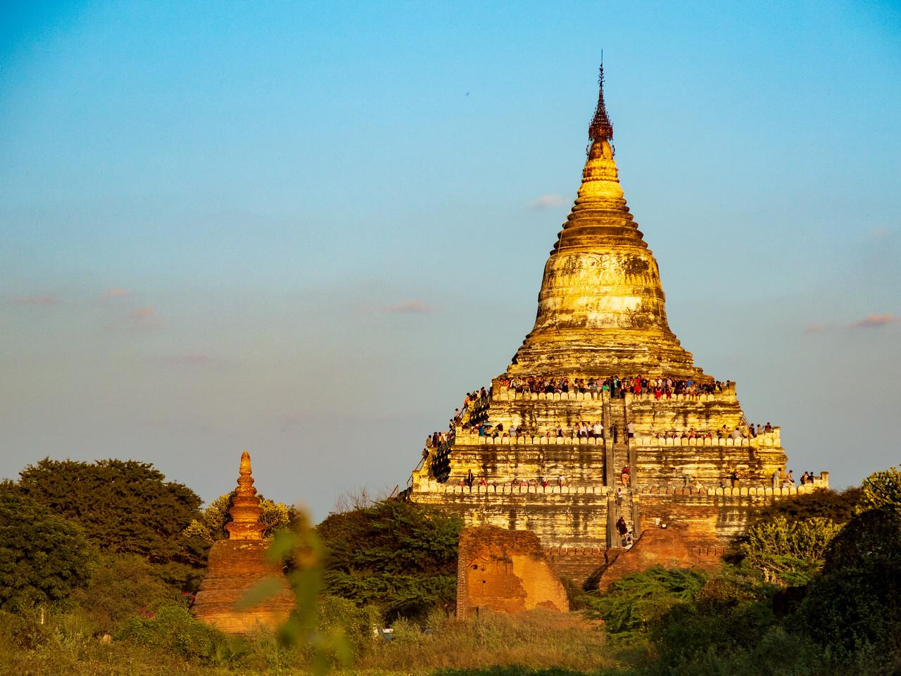 Shwesandaw Pagoda on the Plains of Bagan