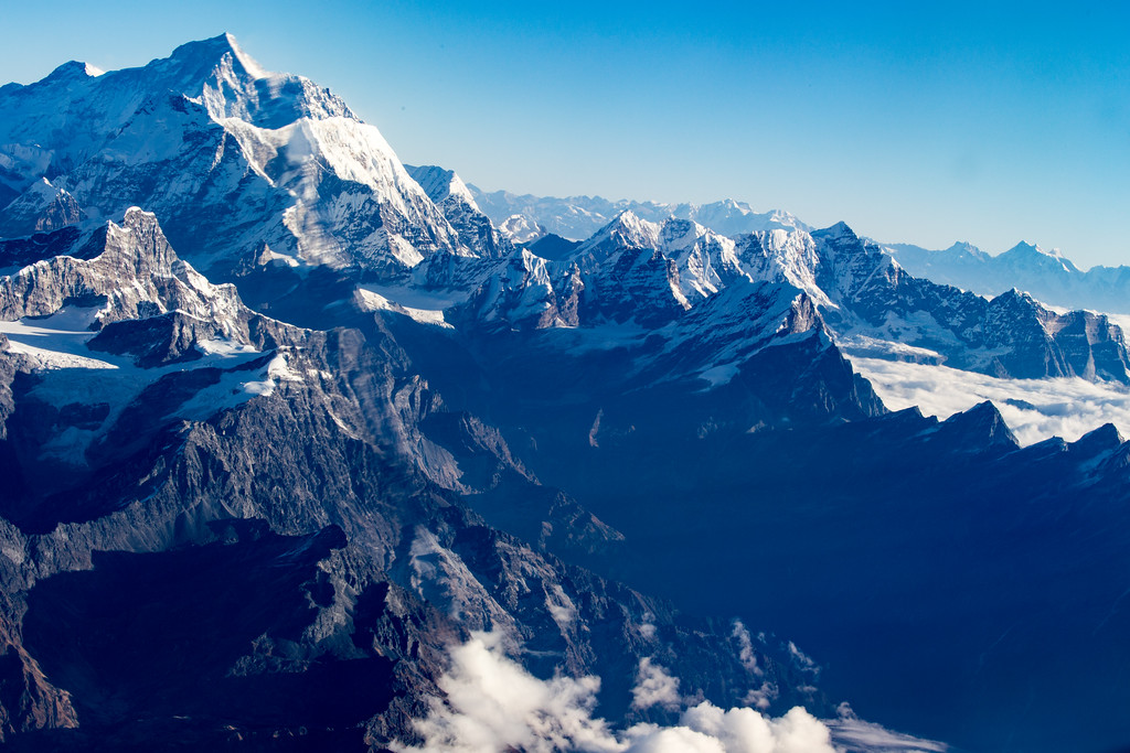 Photo of Flying Among the Himalayas Near Kathmandu