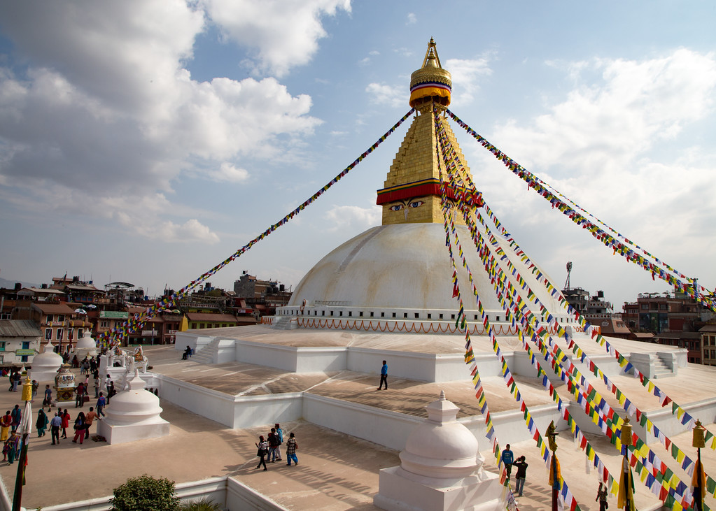 Boudhanath Stupa in Kathmandu Photo Gallery