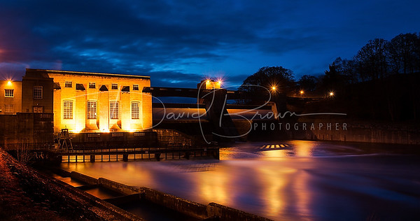 Pitlochry Dam at Night