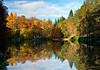 loch dunmore, autum colours,landscape, pitlochry,perthshire,scotland. uk