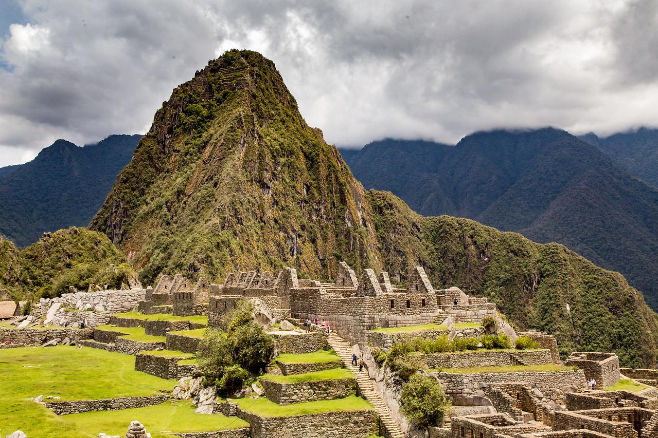Machu Picchu on a Rainy Morning