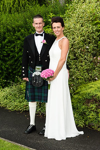 WEDDING held at Pitlochry Registary office