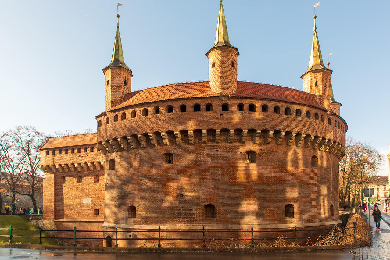 The only remaining gatehouse in Krakow