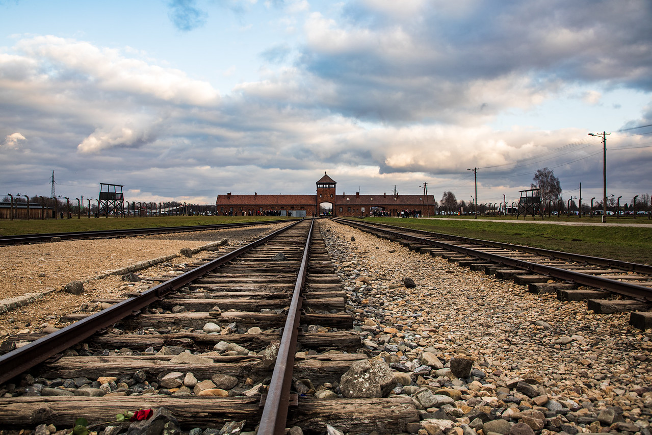 The Auschwitz Birkenau Memorial near Krakow