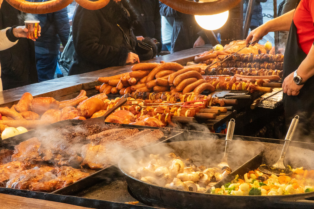 Street Food At Krakow's Christmas Markets