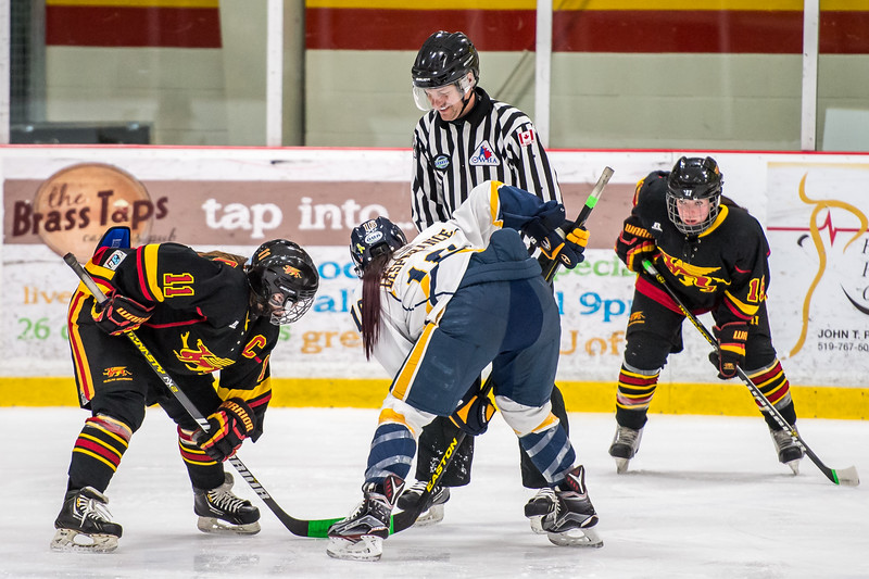 2016-02-07 Windsor Lancers at Guelph Gryphons