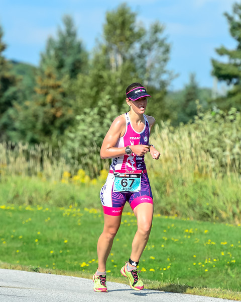 Julie killing the marathon leg