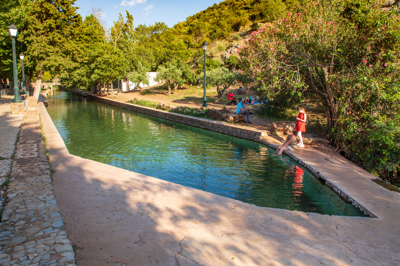 Fonte Grande in Alte, Portugal