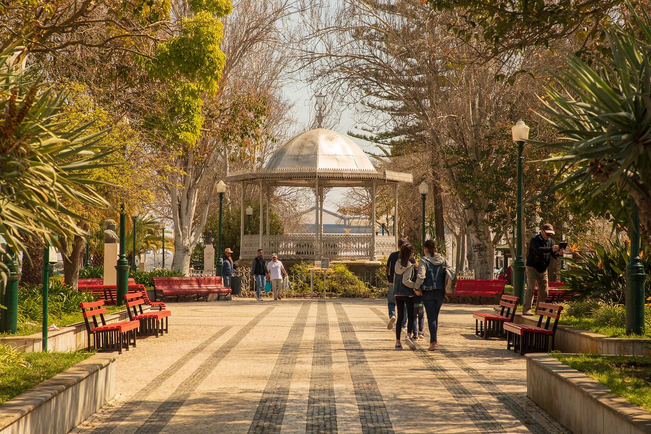 Park In Tavira Portugal Near Praça da República