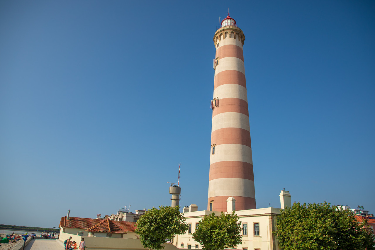 Image of The Barra Lighthouse near Aveiro the Tallest Lighthouse in Portugal