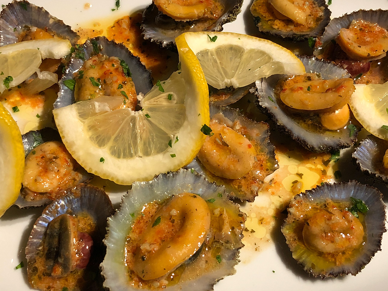 Limpets at O' Pirata on Terceira Azores