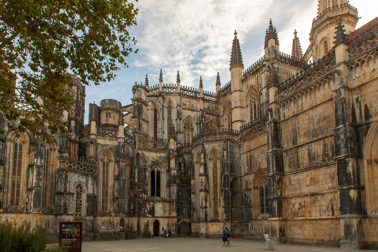 Photo of the Exterior of Batalha Monastery in Portugal