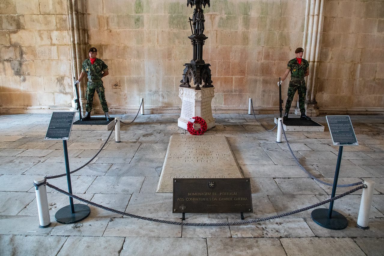 Photo of Tomb of the Unknown Soldiers Batalha Monastery in Portugal