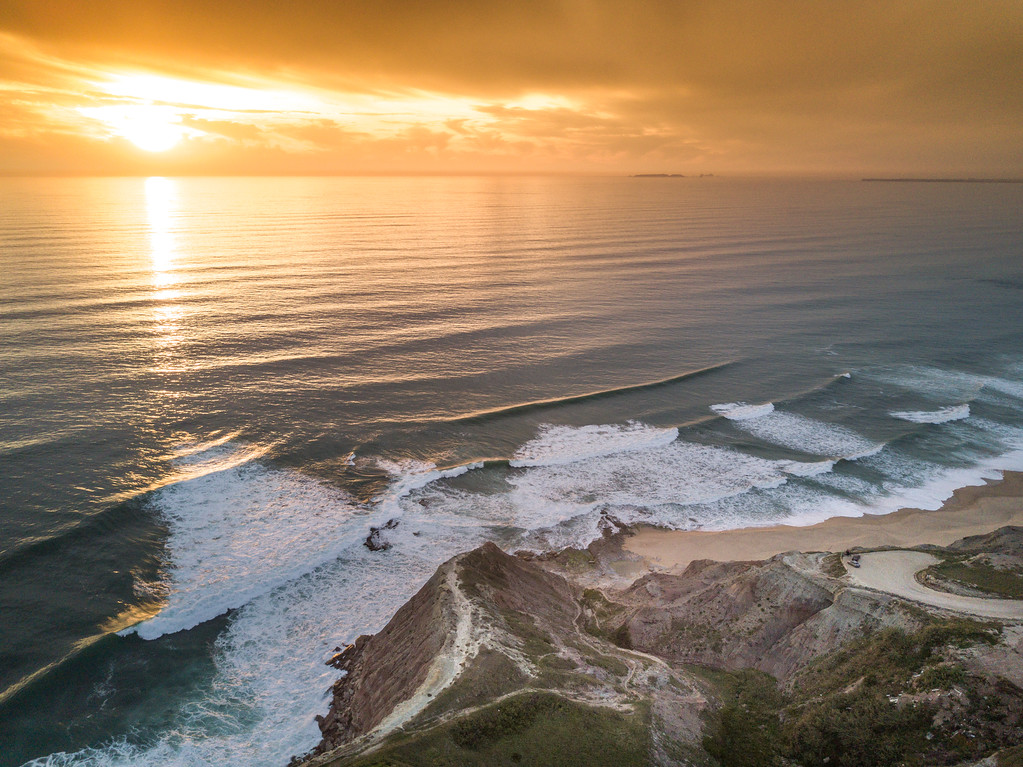 Sunset from the Drone in Atalaia