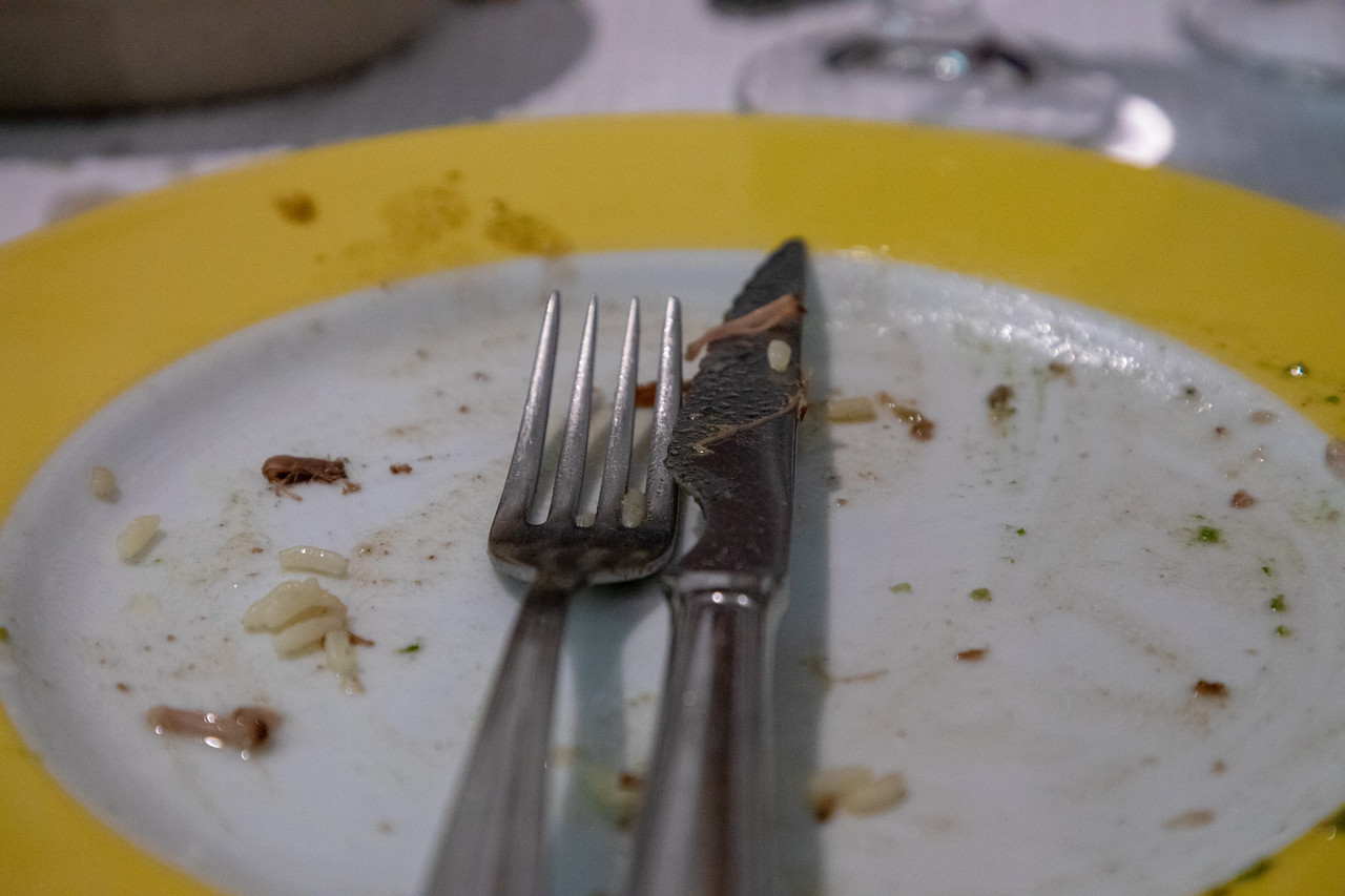 Sorry, the Food Was So Good, We Forgot to Take Photos Before We Started Eating