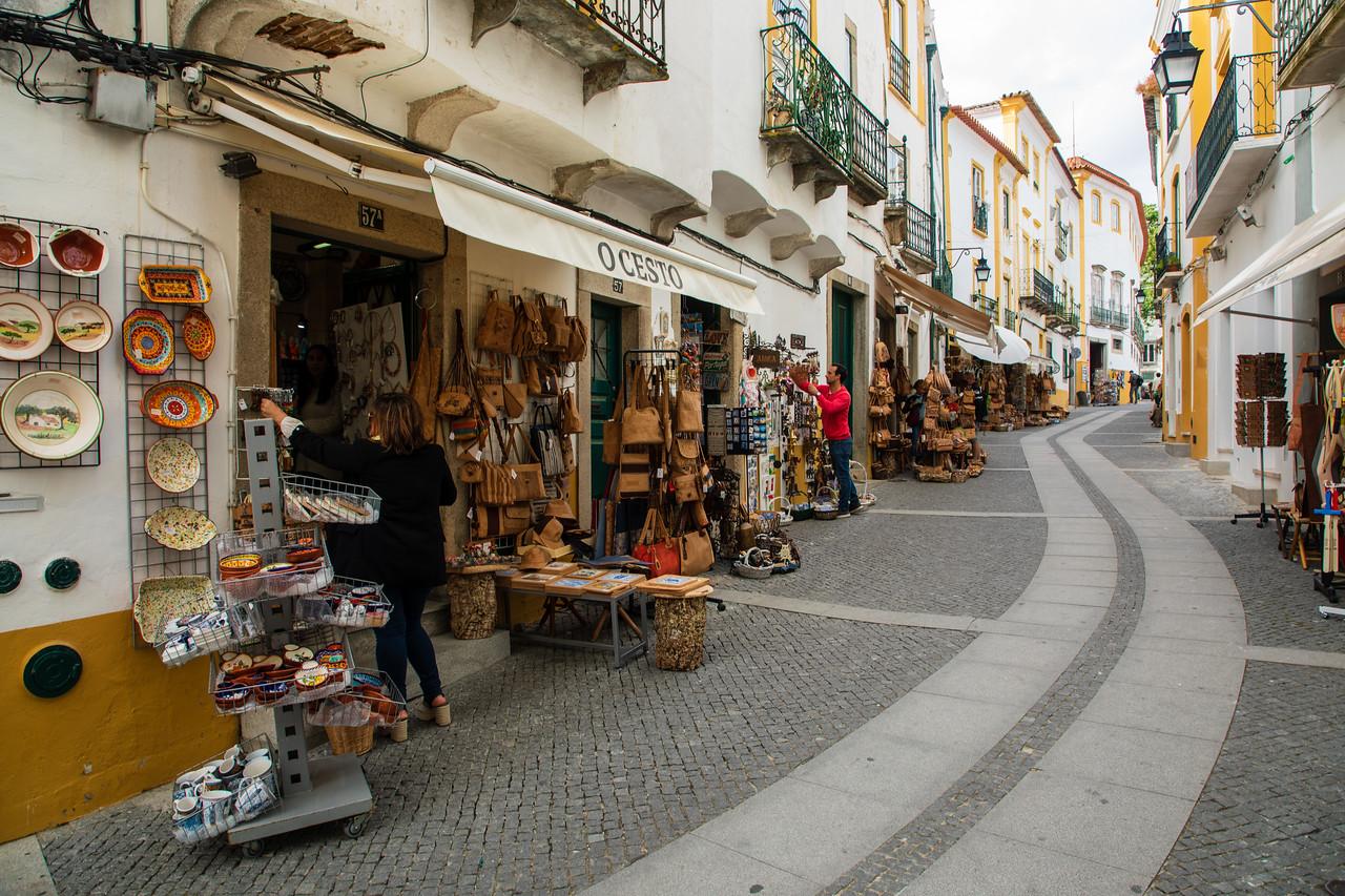 Evora's Old Town