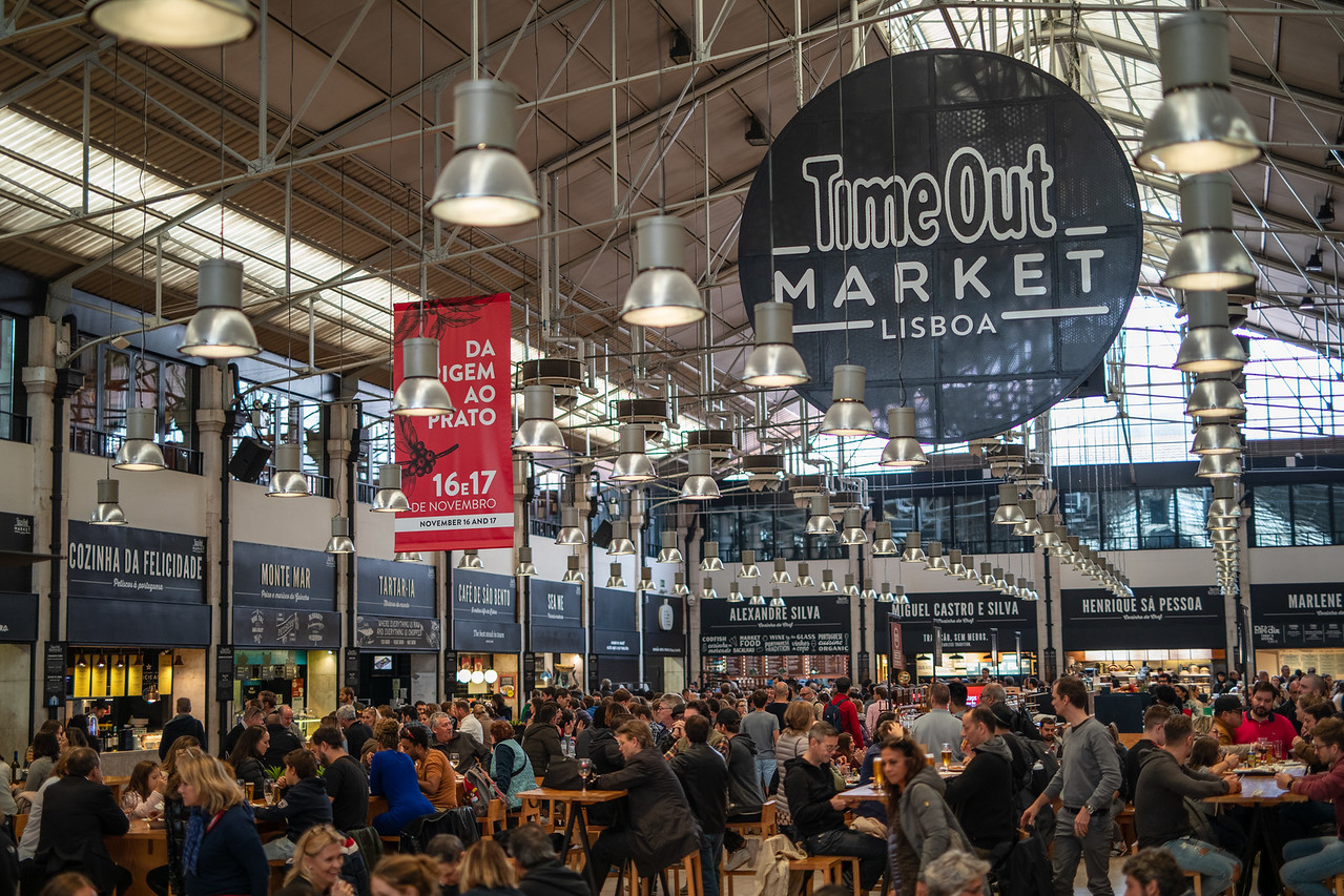 Time Out Market Is A Great Place For Lunch After Portuguese Classes
