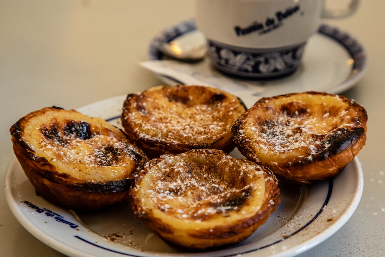 Pastéis de Belem for one day in Lisbon
