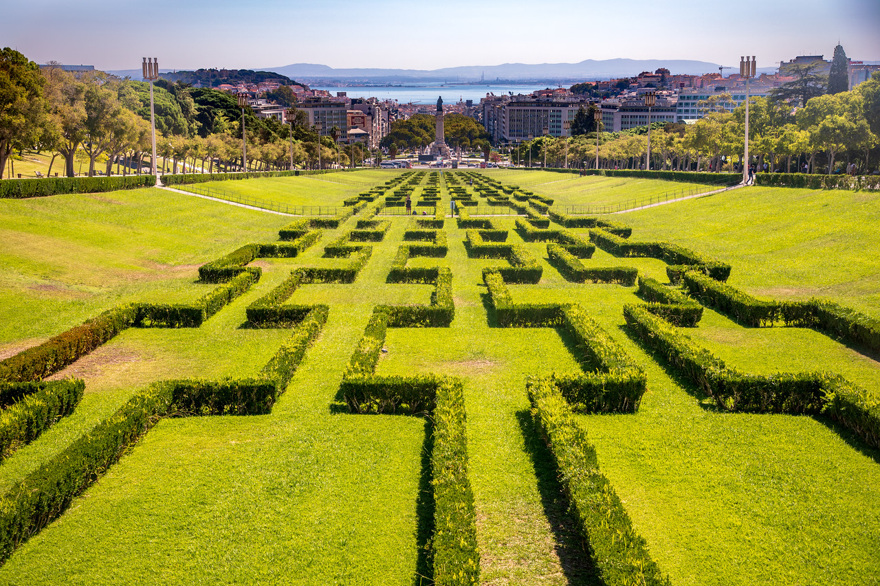 Lisbon In One Day Must See King Edward VII Park aka Parque Eduardo VII