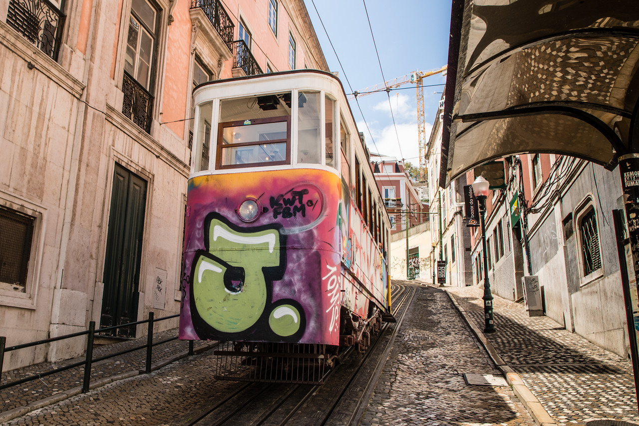 The Funiculars in Lisbon Are Also Works Of Art