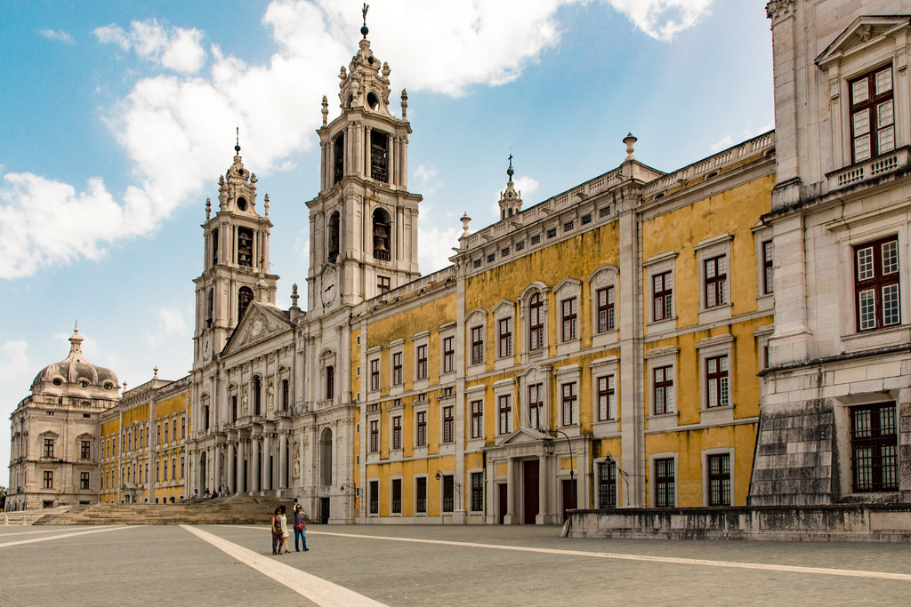 The Palace of Mafra (Palácio de Mafra)