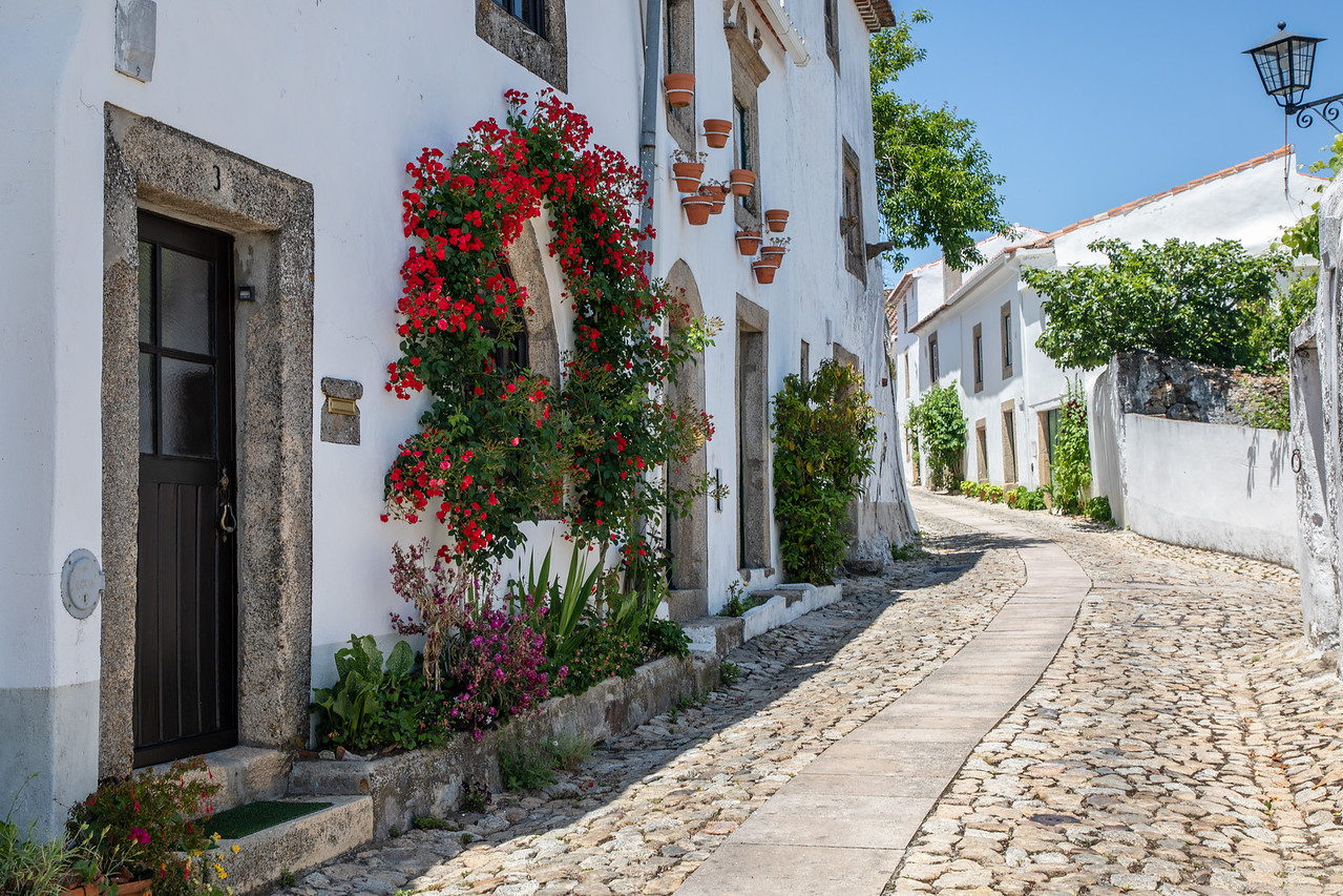 Street View of Marvão, Portugal