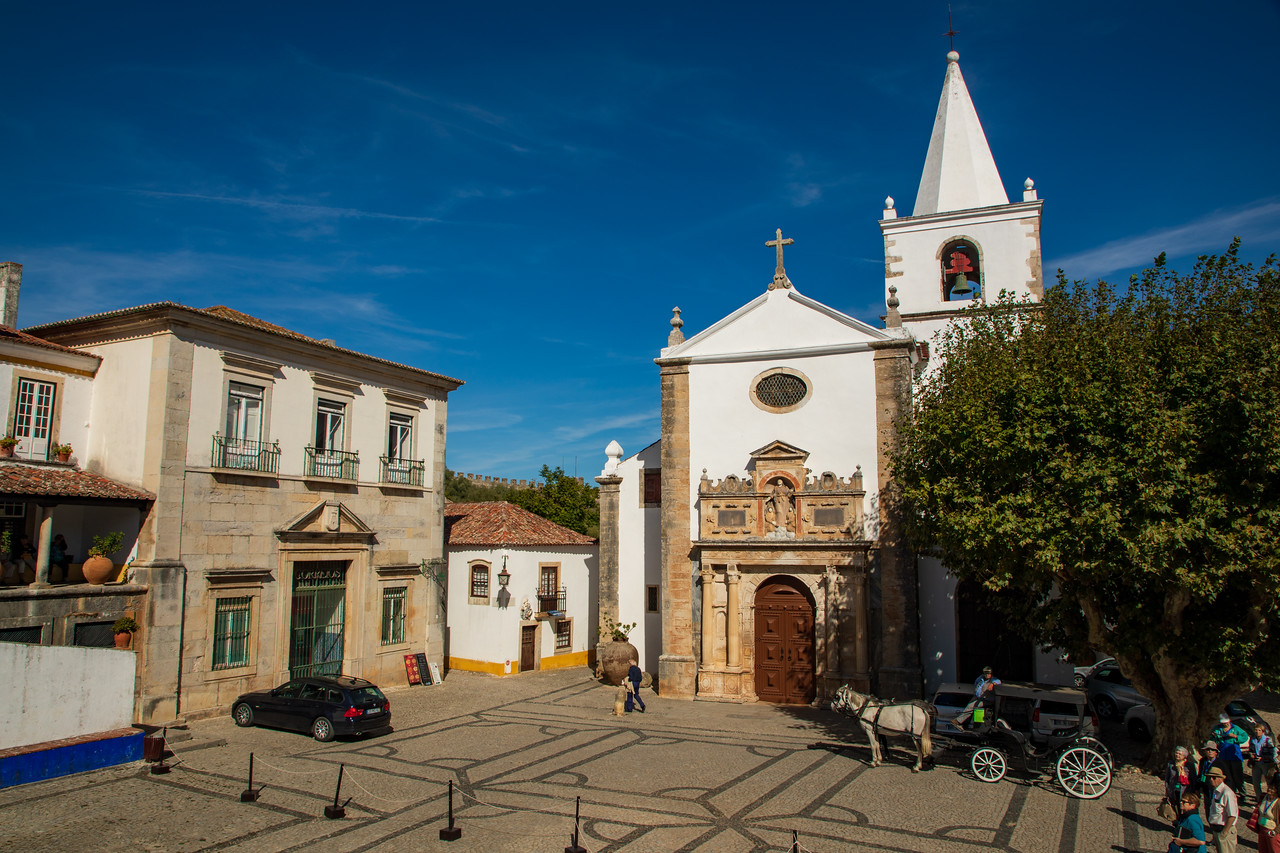 See The Church of Santa Maria is a thing to do in Obidos, Portugal