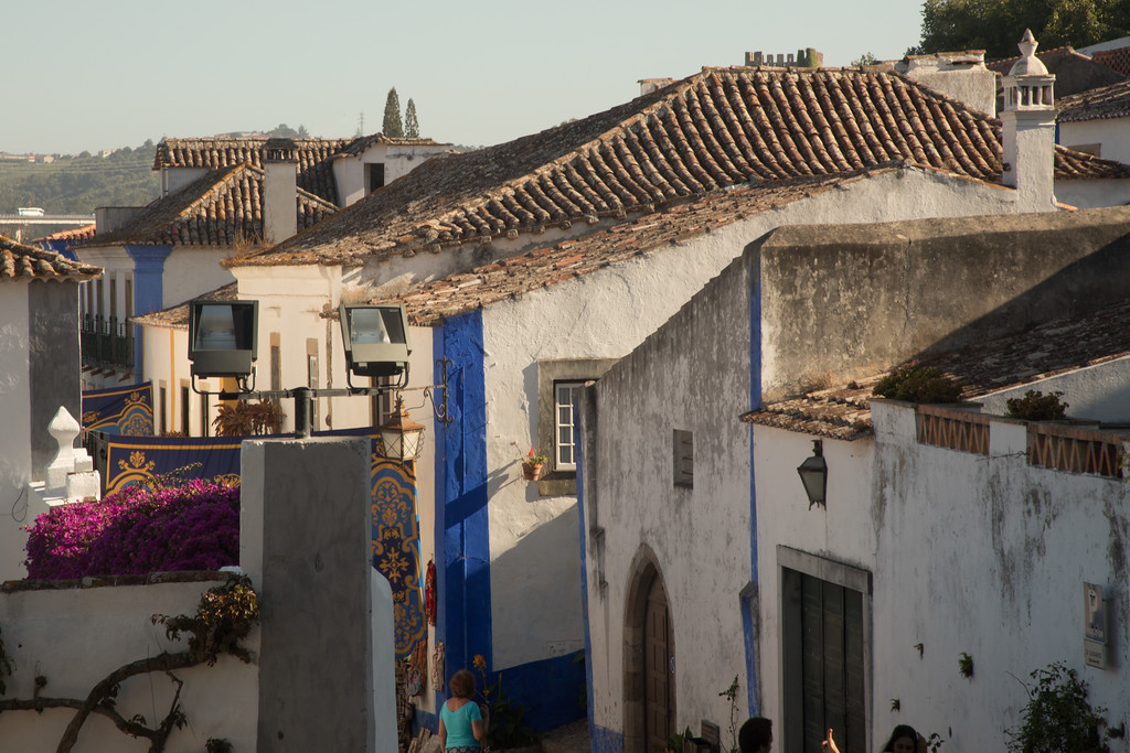 The Streets of Obidos, Portugal