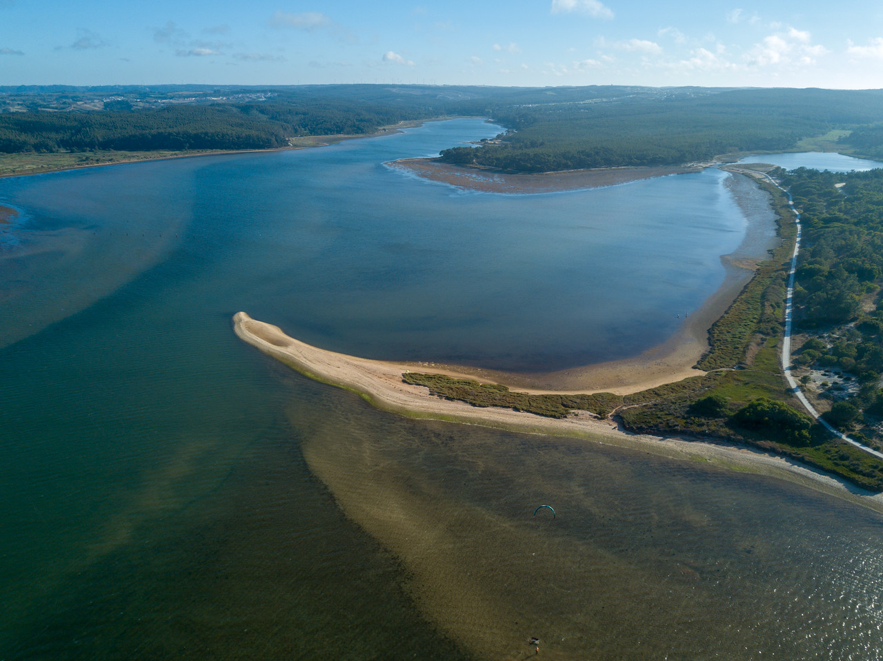 Picture of Drone View of Obidos Lagoon