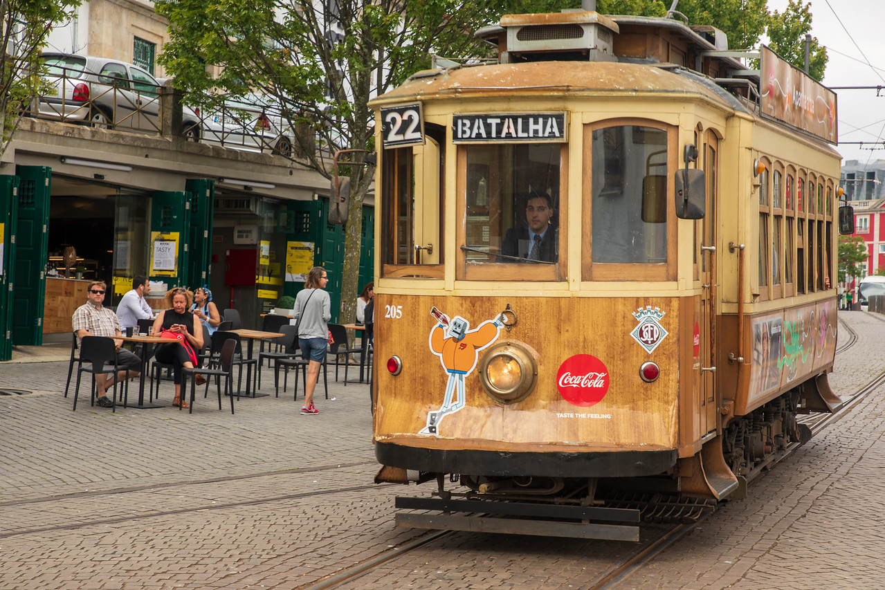 With 3 Days in Porto Riding the Tram is a Fun Thing to Do
