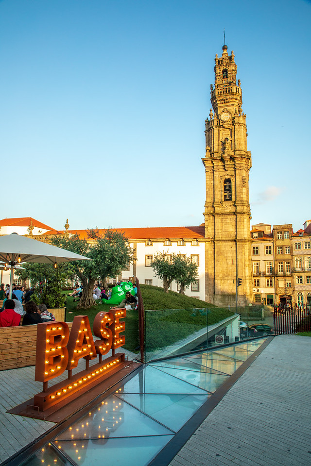Clérigos Tower from BASE is a perfect place to relax on a Porto city break