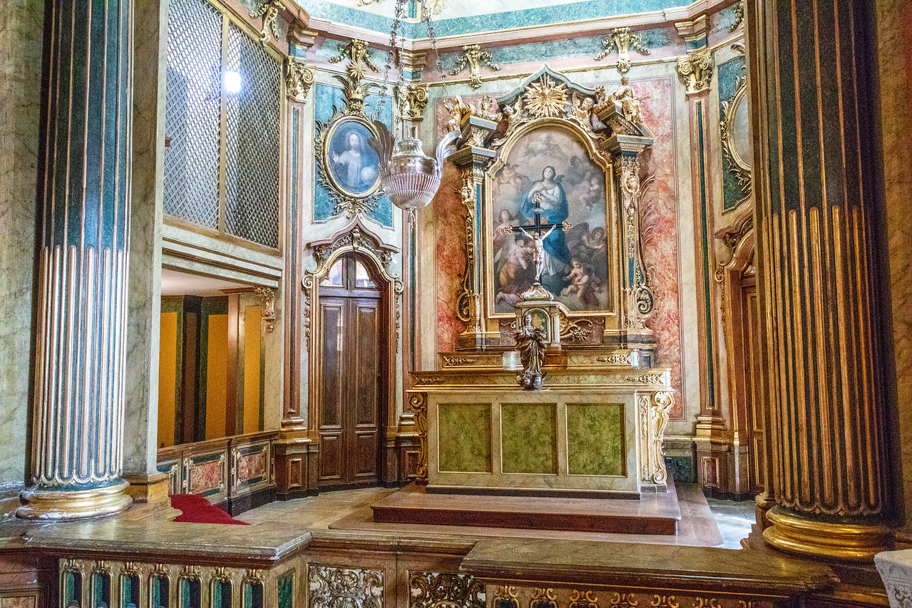 The Chapel at Queluz Palace Palacio Queluz