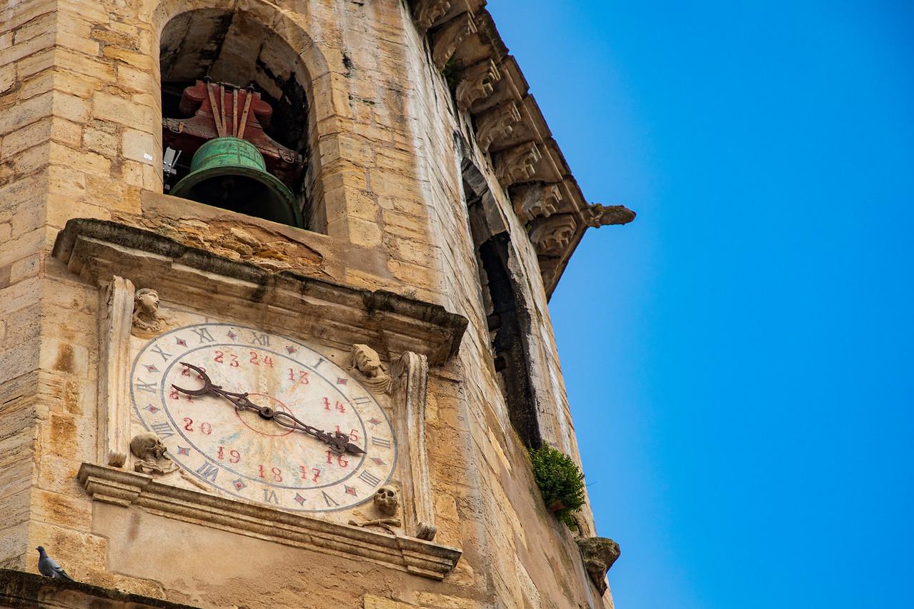 Clock Tower on Igreja de São João Batista