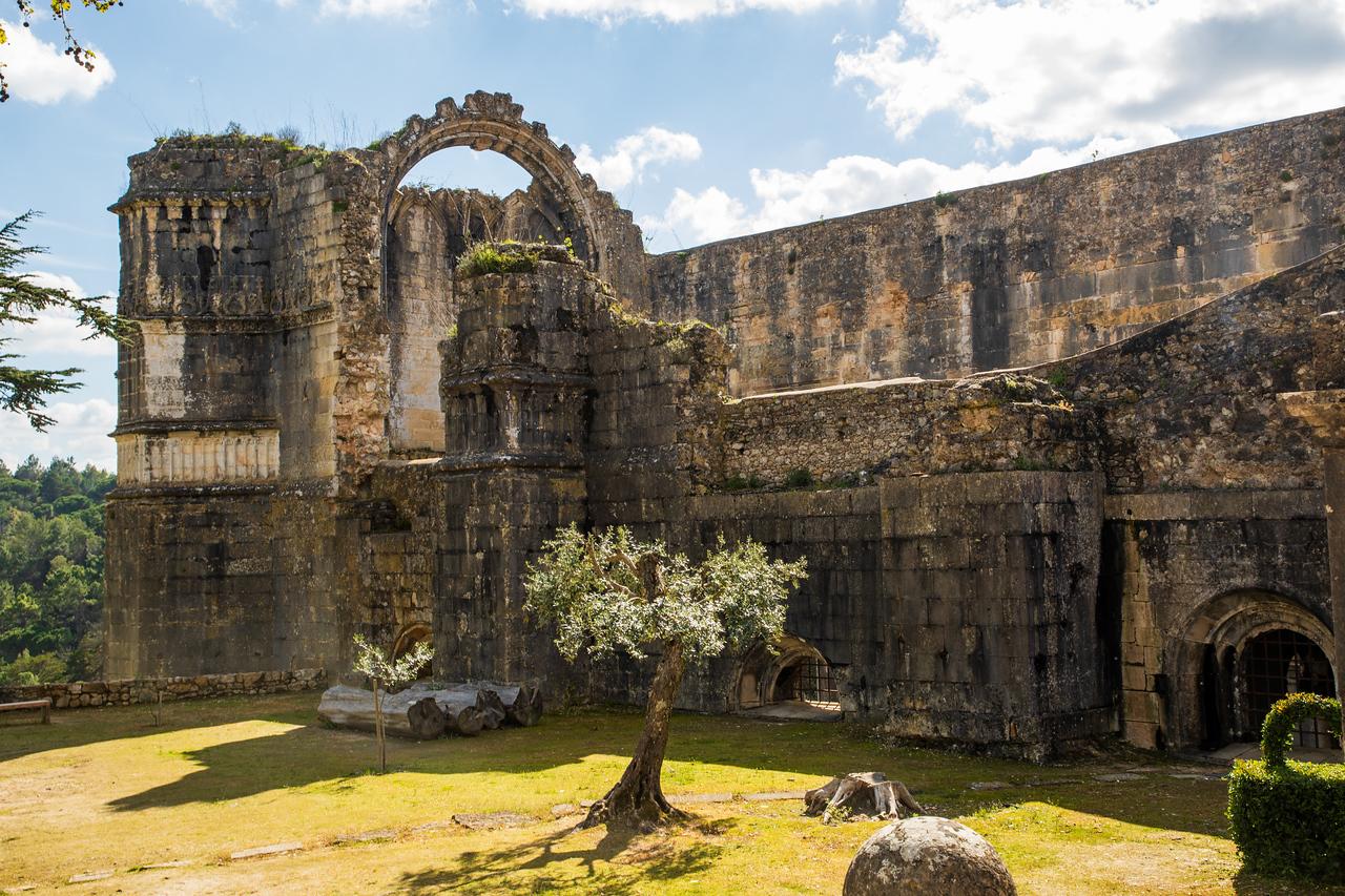 Inside Tomar Castle