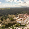 Convento de Cristo and Tomar Castle in Portugal