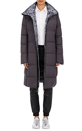 The North Face x Barneys Reversible Puffer Long Jacket