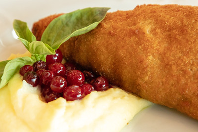 Jonathan Couldn't Resist the Chicken Kiev at Dr. Zivago Restaurant
