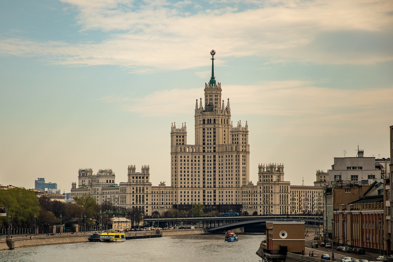 Seven Sisters / Stalin's Towers in Moscow