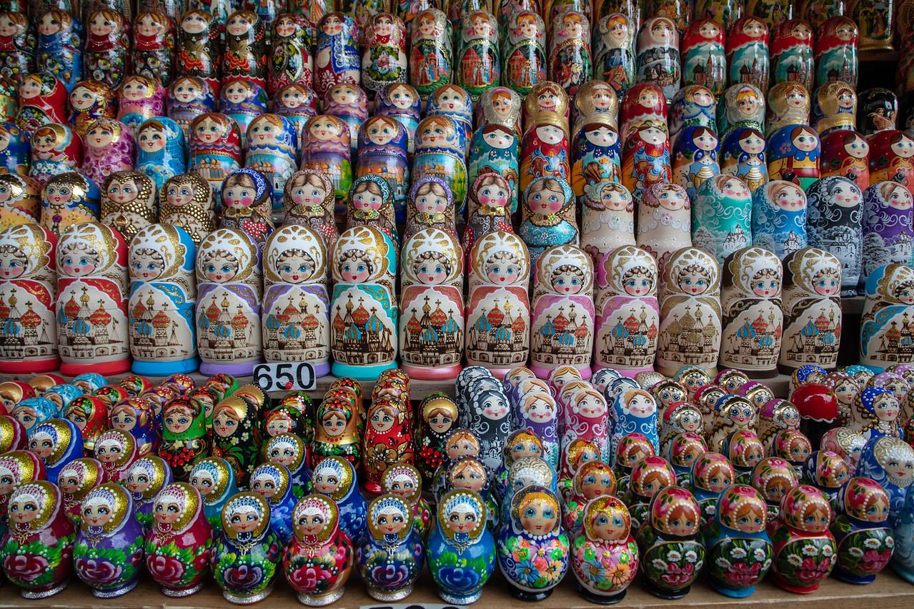 Izmailovsky Souvenir Market