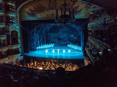 Performance at the Bolshoi Ballet