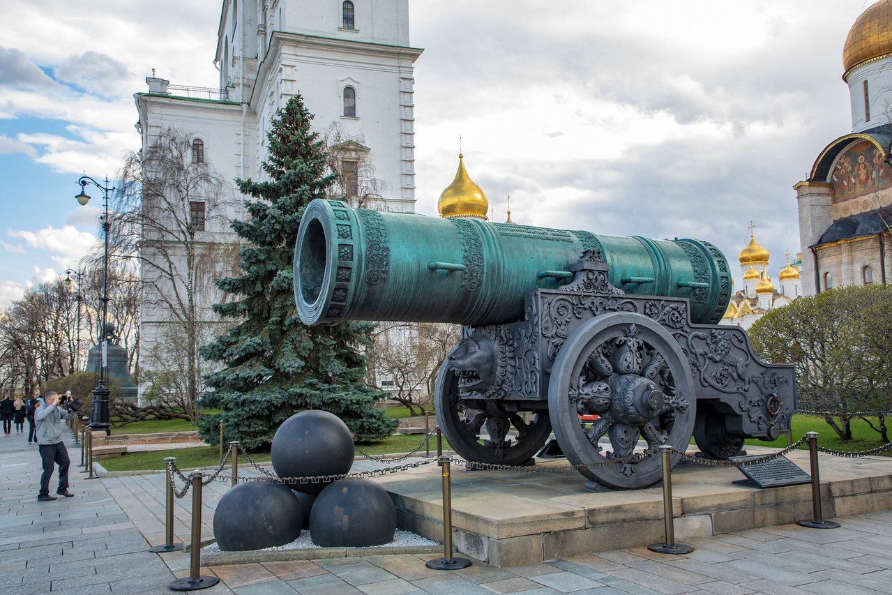 Tsar Cannon, the Largest Cannon that Never Fired
