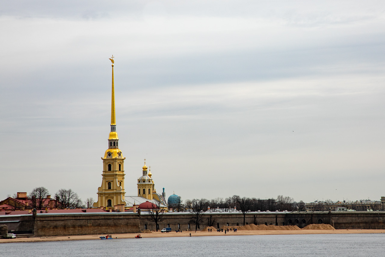 Peter and Paul's Fortress - The Birthplace of Saint Petersburg, Russia