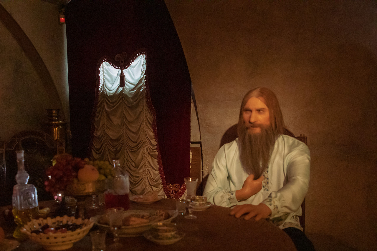 Display of Rasputin Before the Poison in Yusupov Palace