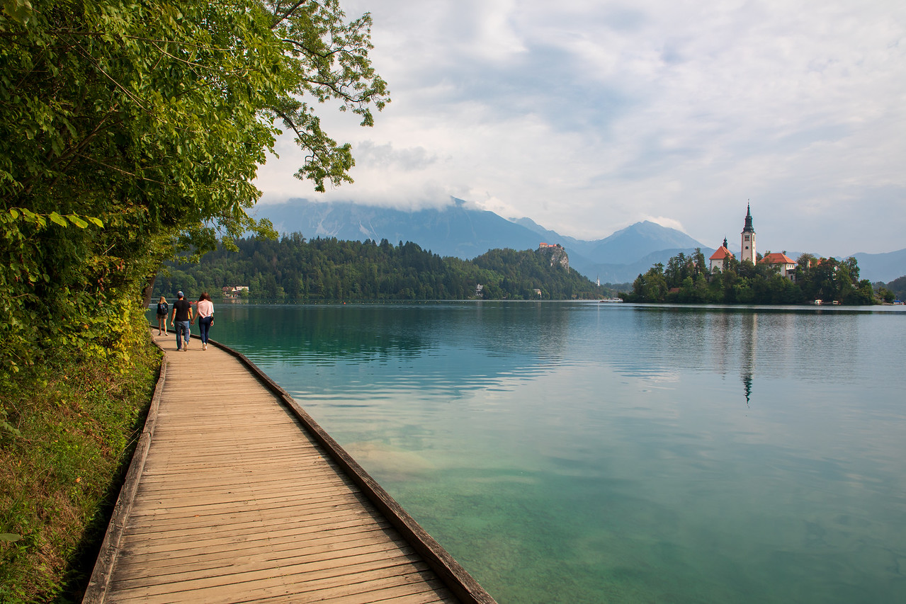 The Beautiful Walk Around Lake Bled