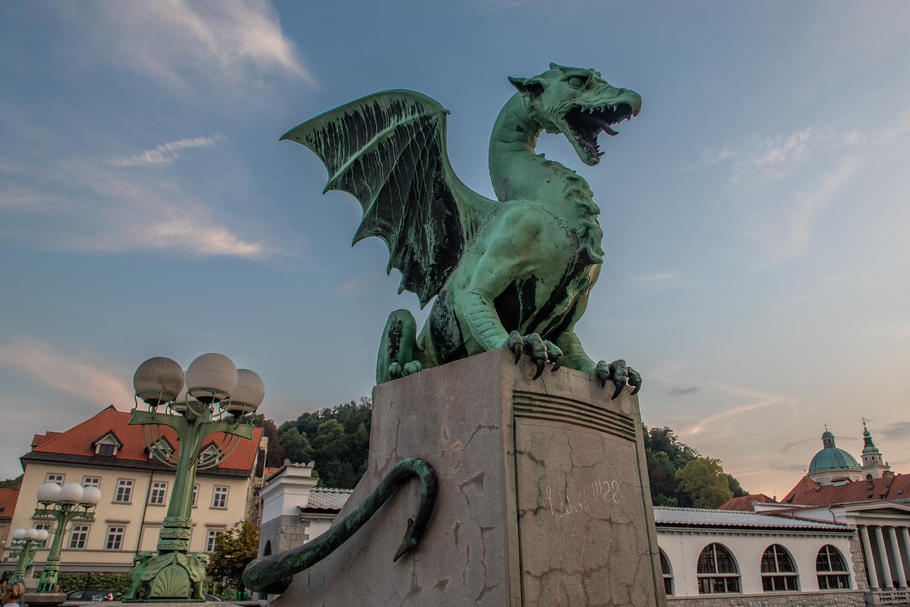 Мост Дракона в Любляне Чем заняться в Любляне, Словения Чем заняться в Любляне, Словения BL2A9435 X2